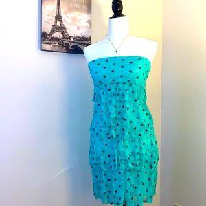 ECLIPSE | Blue lace dress